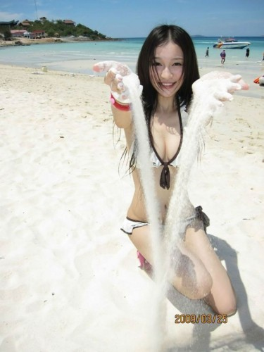 tall, slender, sexy, long-haired Shanghai girl